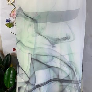 Milly Dresses - Milly of New York Breene Silk and lamb watercolor